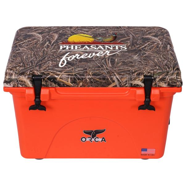 Pheasants Forever 75 Qt Orca cooler awarded to third ticket drawn
