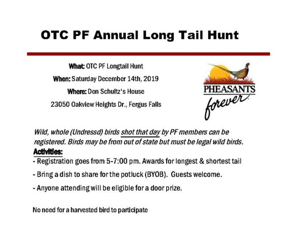 2019 Long Tail Hunt