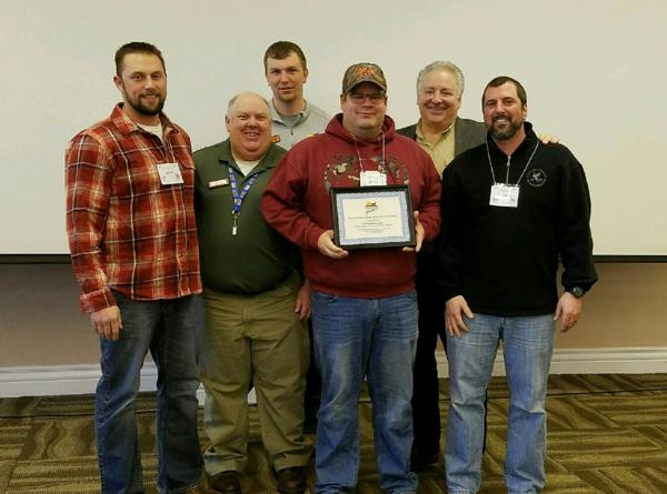 Our Chapter received the 2016 Sharpshooter Award for Outreach and Education towards youth programs and events in Wisconsin.