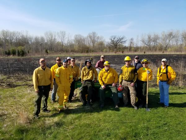 Prescribed Burn Crew