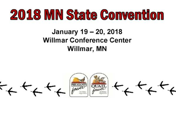 2018 Pheasants Forever Minnesota State Convention