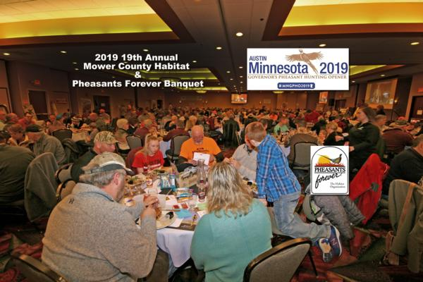 2019 - 19th Annual Banquet for Mower County Habitat & Pheasants Forever Chapter #670