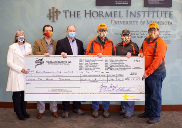 2020 - 6th Annual Hunt For A Cure - Check Presentation