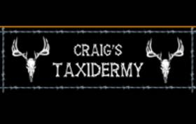 Craig's Taxidermy Studio