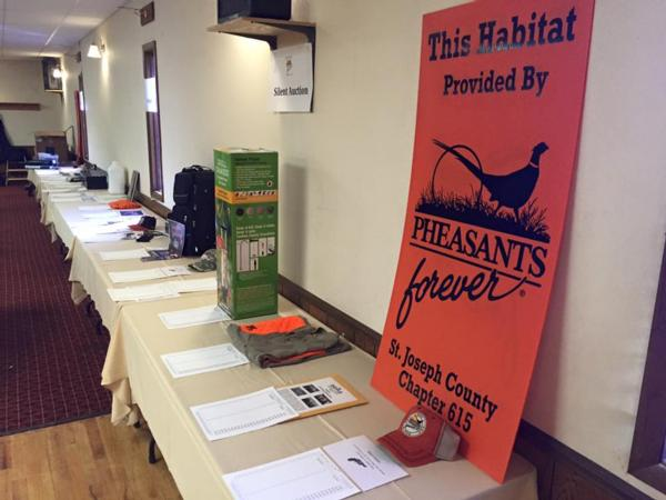 St. Joseph County Michigan Pheasants Forever 615 - Banquet Page