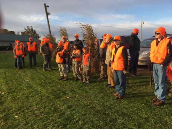 RCPF 2016 Mentored Pheasant Hunt