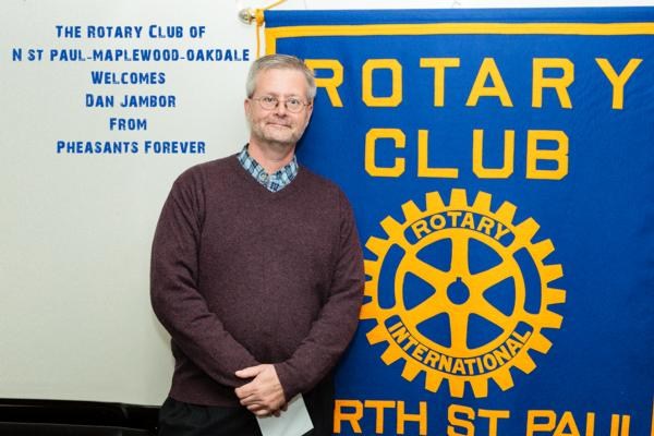 RCPF Presents to Rotary Club