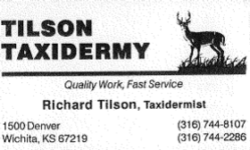 Tilson Taxidermy