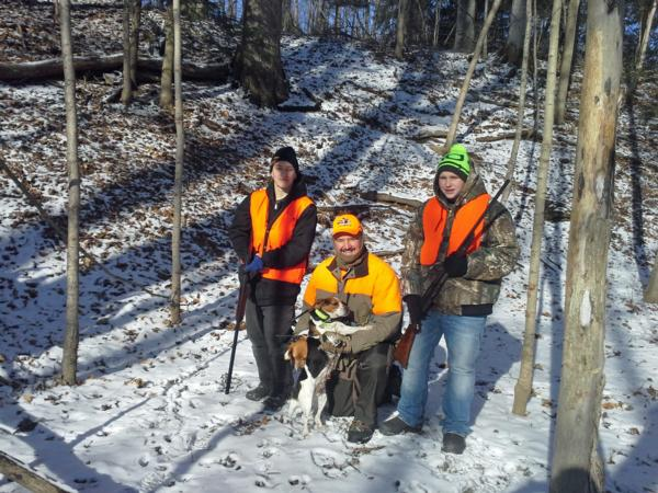 Youth Rabbit Hunt Jan 2016