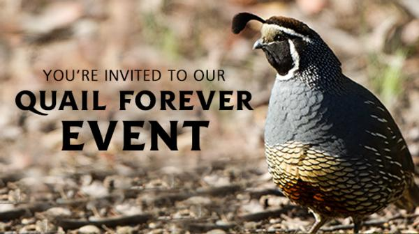 Snake River Quail Forever 6th Annual Fundraiser Banquet, Sept. 14, Elks Lodge in Nampa. Be There!