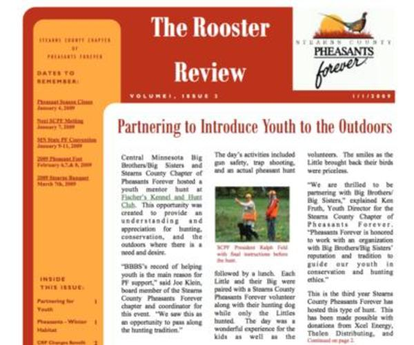 Newsletter - Volume 1, Issue 2