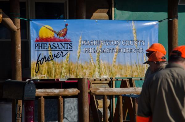 The event is hosted by the Washington County Pheasants Forever Chapter at Whispering Emerald Ridge