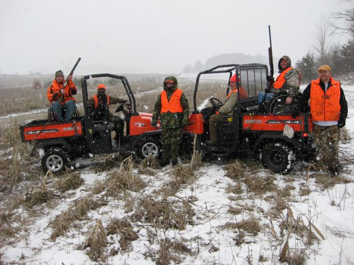 Annual Disabled & Wounded Warrior's Hunt