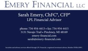Sarah Emery Emery Financial