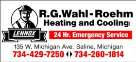 R. G. Wahl-Roehm Heating and Cooling
