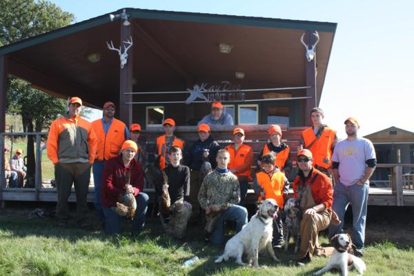 2018 Youth Mentor Pheasant Hunt
